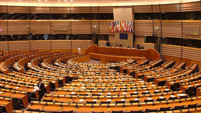 EU Parlamentet. Foto: Alina Zienowicz (WikiCommons)