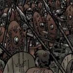 GERMANIA: Udgivelse og signering af jernaldertegneserien