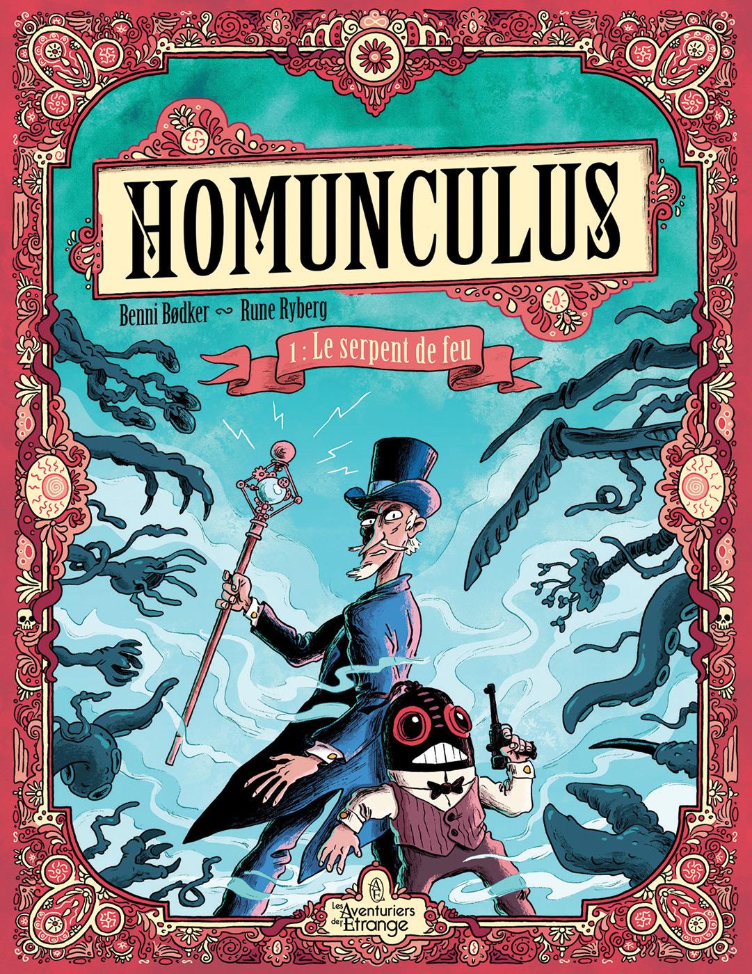 Homunculus by Rune Ryberg and Benni Bødker