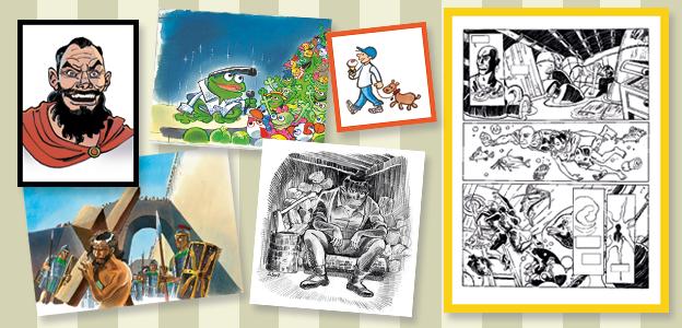 original tegnekunst salg galleri art illustration grafik tegninger sussi bech
