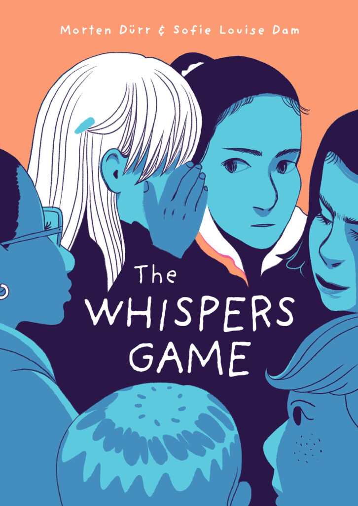 The Whispers Game graphic novel Dürr Dam foreign rights