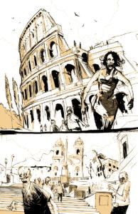 Tegneserietegner Tom Kristensen