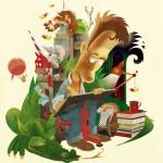 Børnebogstegneren - et mentalt selvportræt