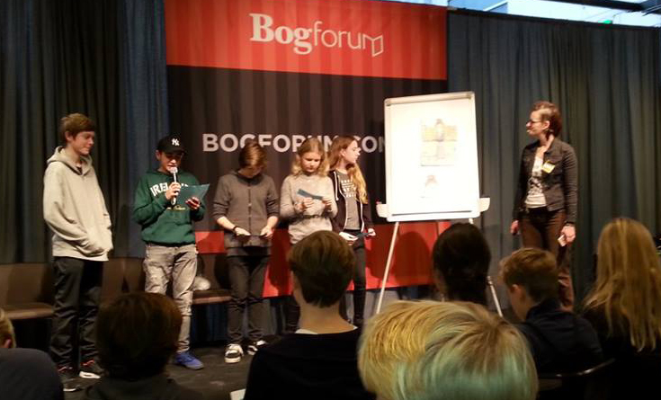 Workshop på Bogforum