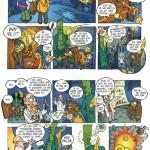 Ballade på Bombenborg - Tegneserie til fyrværkerikampagnen i Danmark. Udkom til samtlige 3. klasser i Danmark 6 år i træk - og er dermed nok den danske tegneserie der er kommet i det største oplag nogen sinde...!