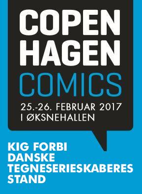 Tegneserier: Kig forbi Danske Tegneserieskaberes stand på Copenhagen Comics