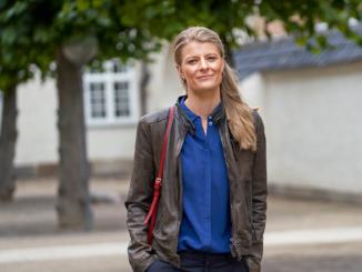 Kulturminister Ane Halsboe-Jørgensen (S) fotograferet af Jens Honoré.