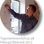 frank-madsen-tegneserieforedrag-workshop-2012