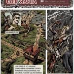 Germania — ny tegneserie om jernalderen i Danmark
