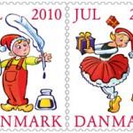 Tegneseriekunstneren Sussi Bech bag årets julemærke