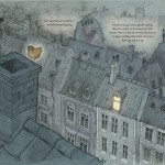 Tobias og Tryllefuglen - første opslag i et børnebogsprojekt der stadigvæk er undervejs.