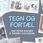 Hands-on/off tegneseriedag på Frederiksberg Hovedbibliotek