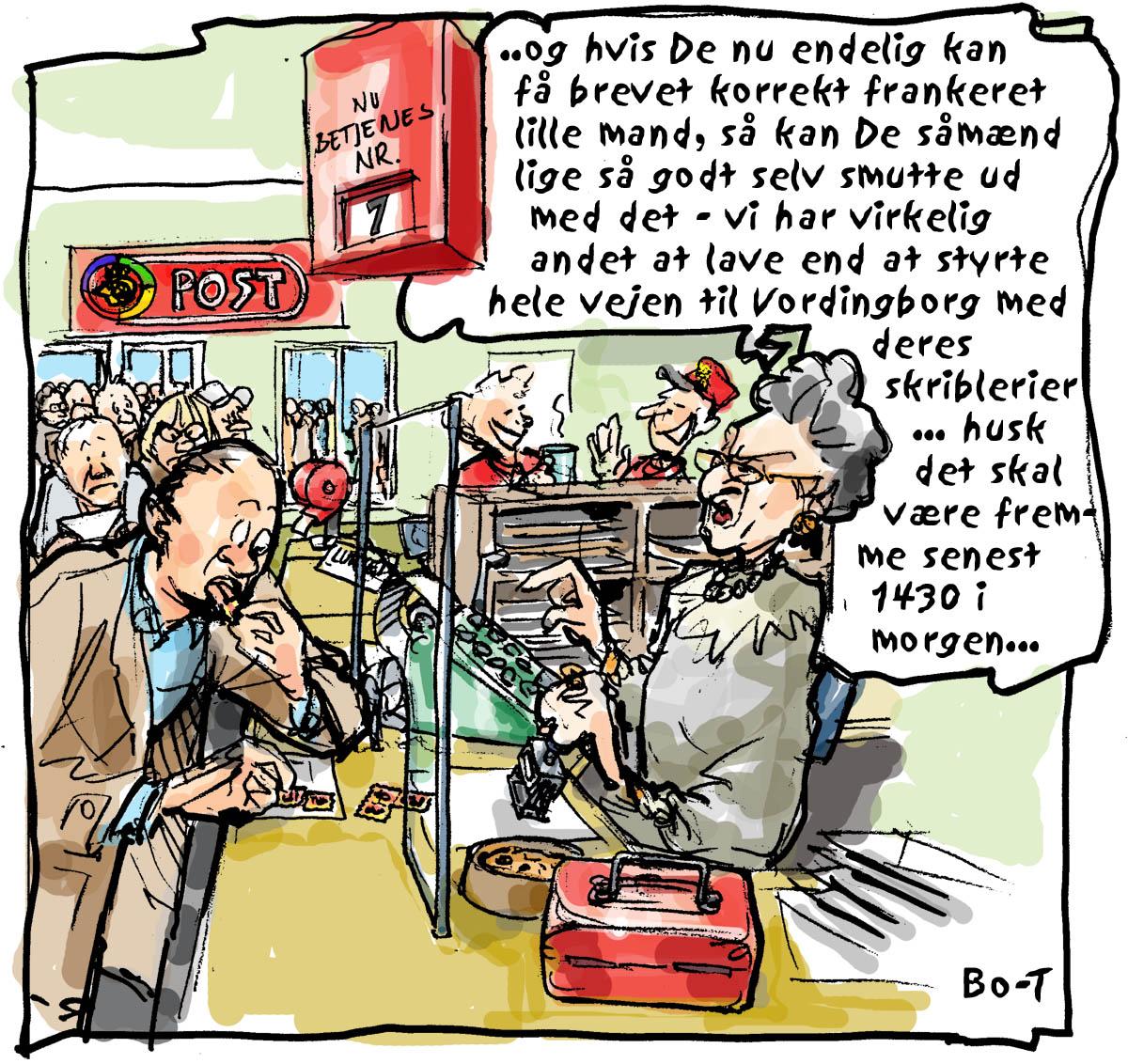 Tegneserietegner Bo Torstensen