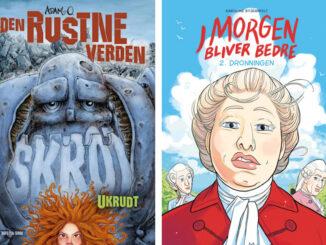 Kulturministeriets forfatterpris og illustratorpris adam o karoline stjernfelt